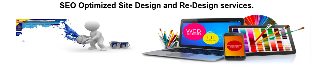 Website Management, Design and Re-Design Services